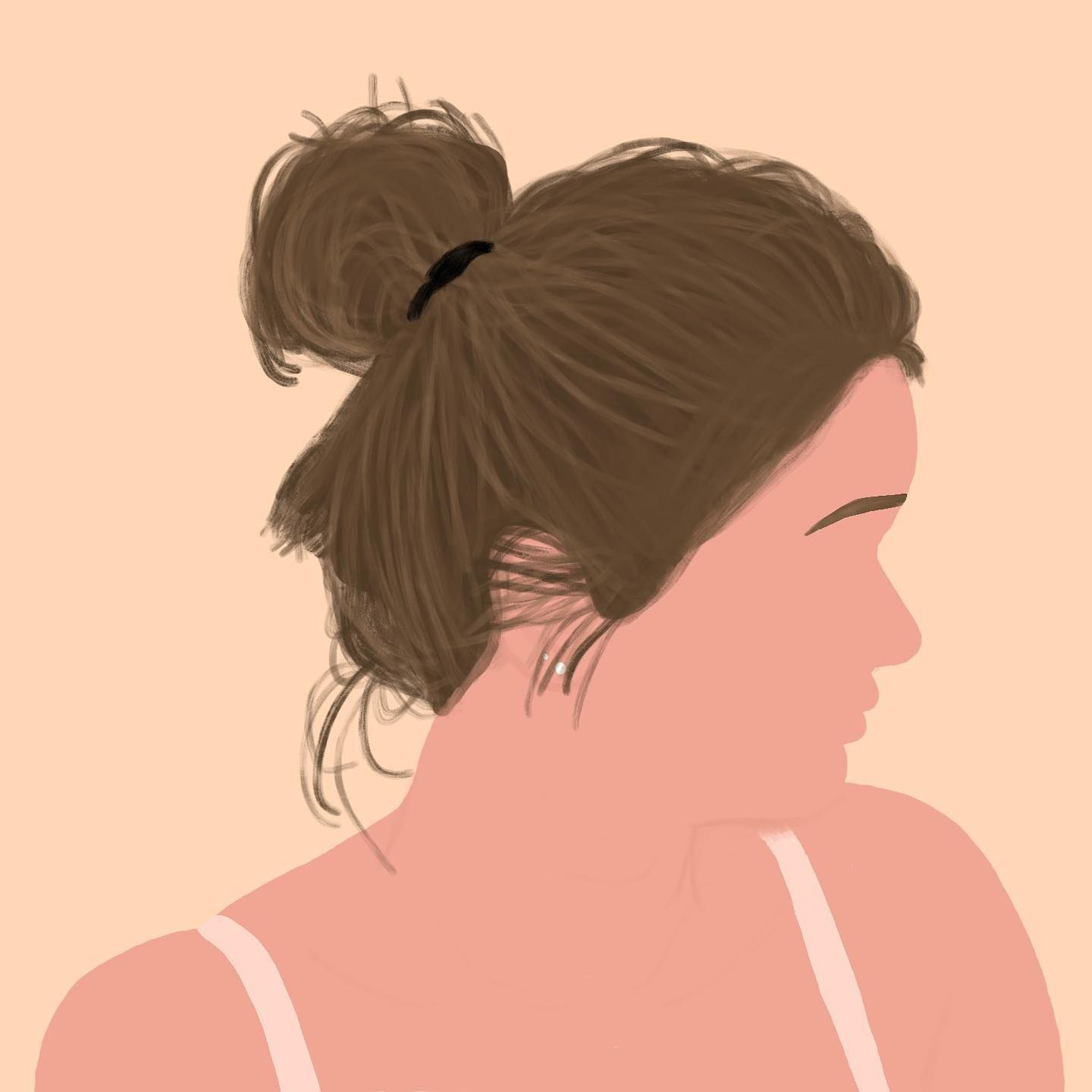 Photo of Messy buns every day ??♀️?