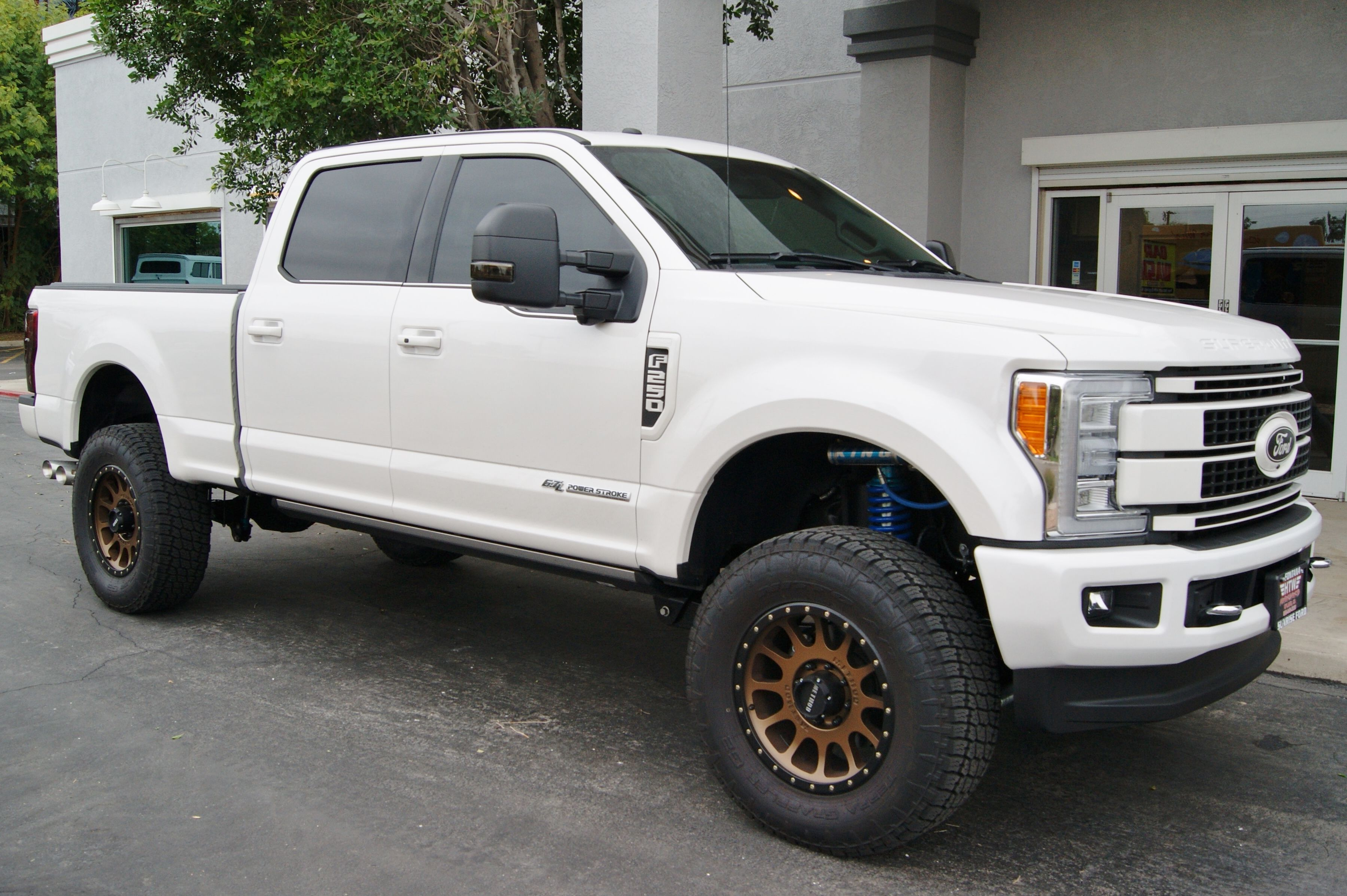 King Coal Chevrolet >> 2017 Ford F-250 Superduty Platinum White • 20x9 Method Racing NV305 Bronze +18mm • 37X12.50R20 ...
