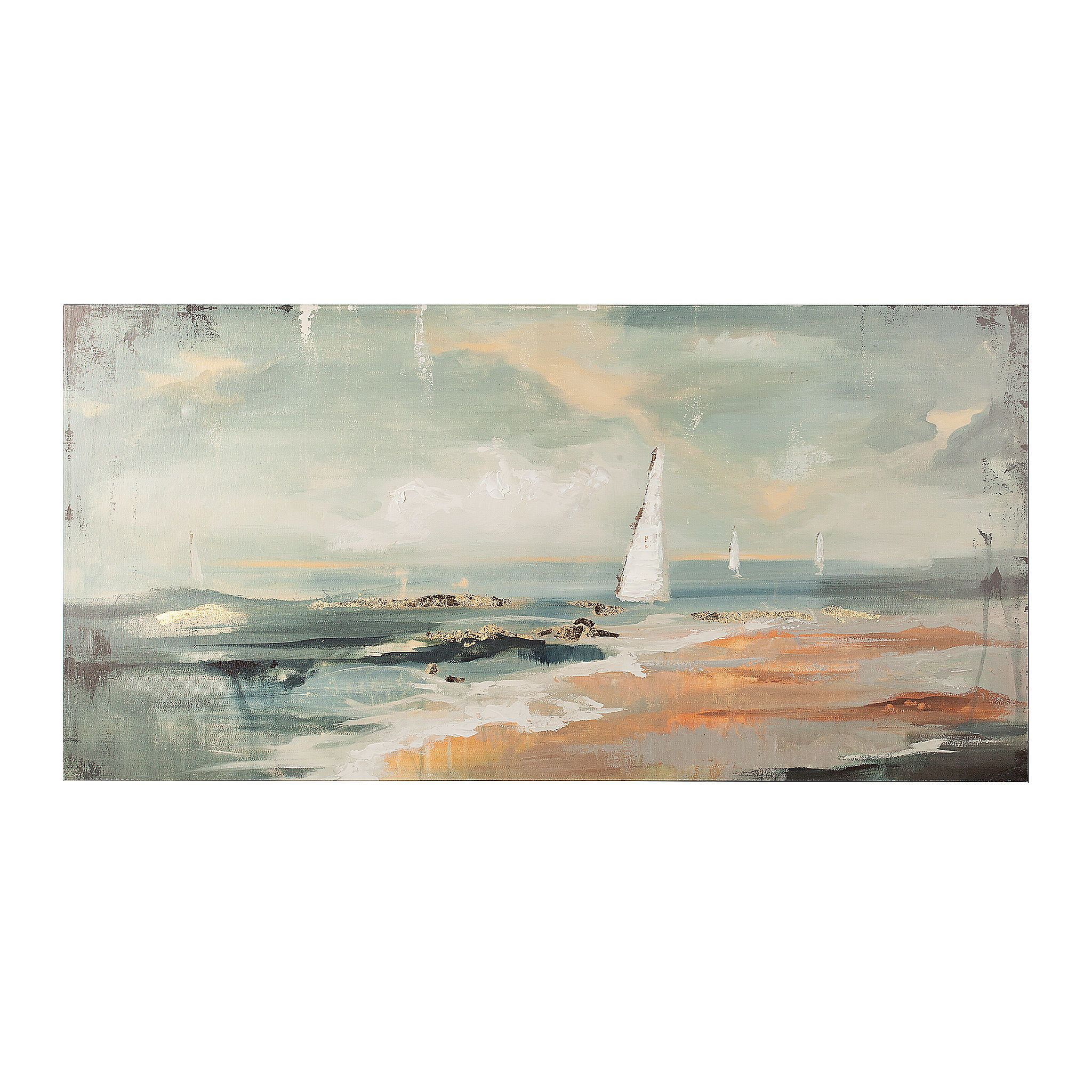 Abstract Seascape Canvas Art Print Kirklands Seascape