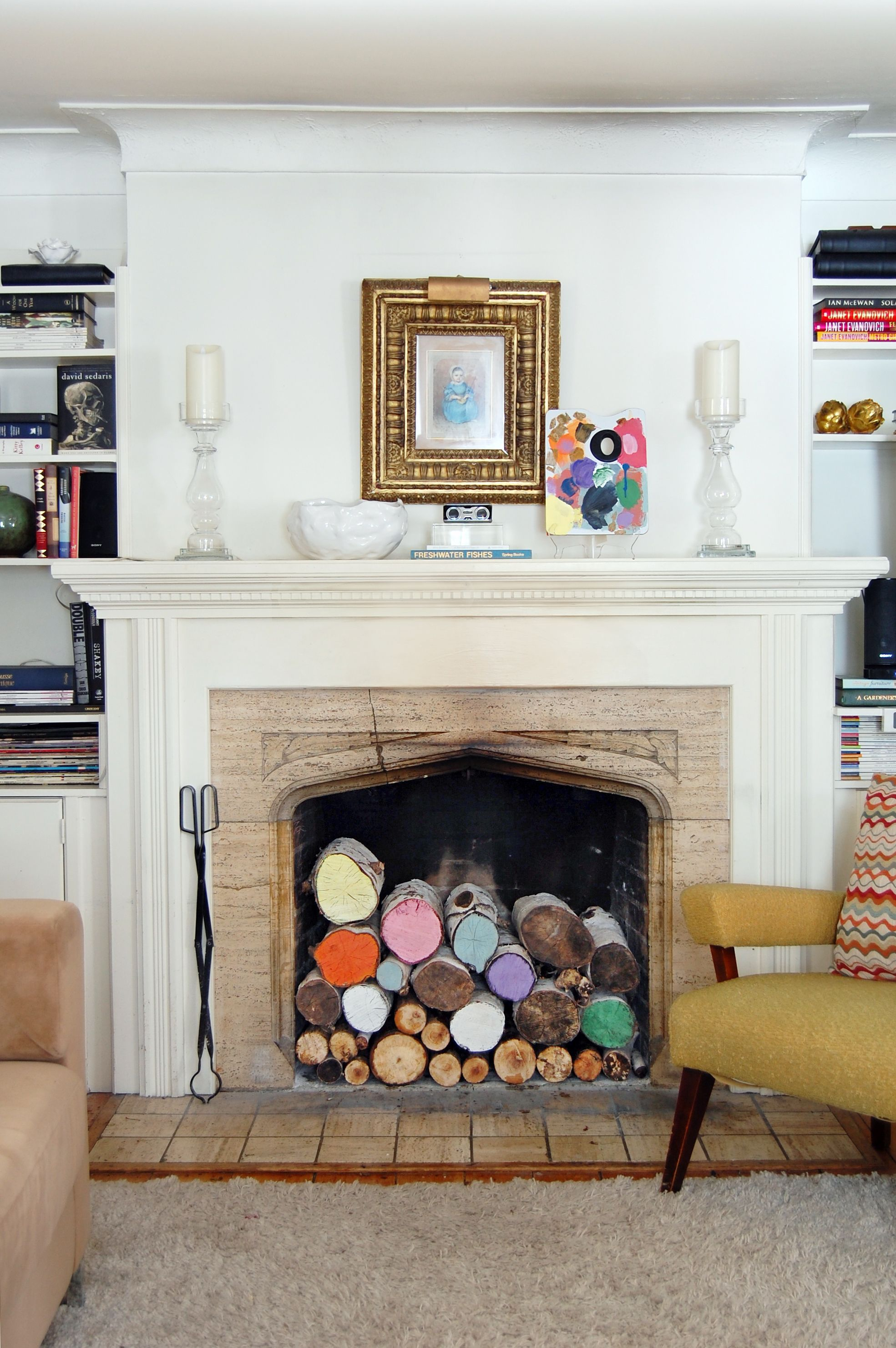 12 Ideas For Decorating A Nonworking Fireplace Home Goods Decor Unused Fireplace Fireplace Filler