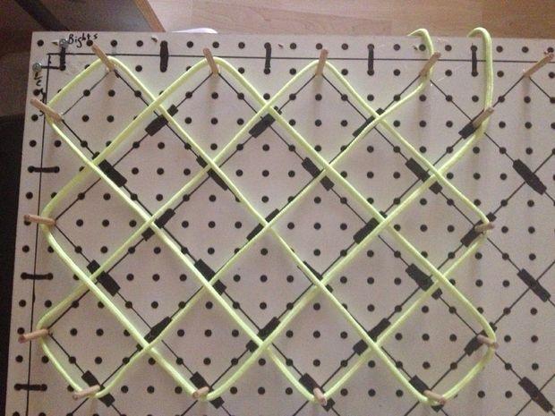 Adjustable Rope Mat Weaving Loom Rope Mat Pinterest