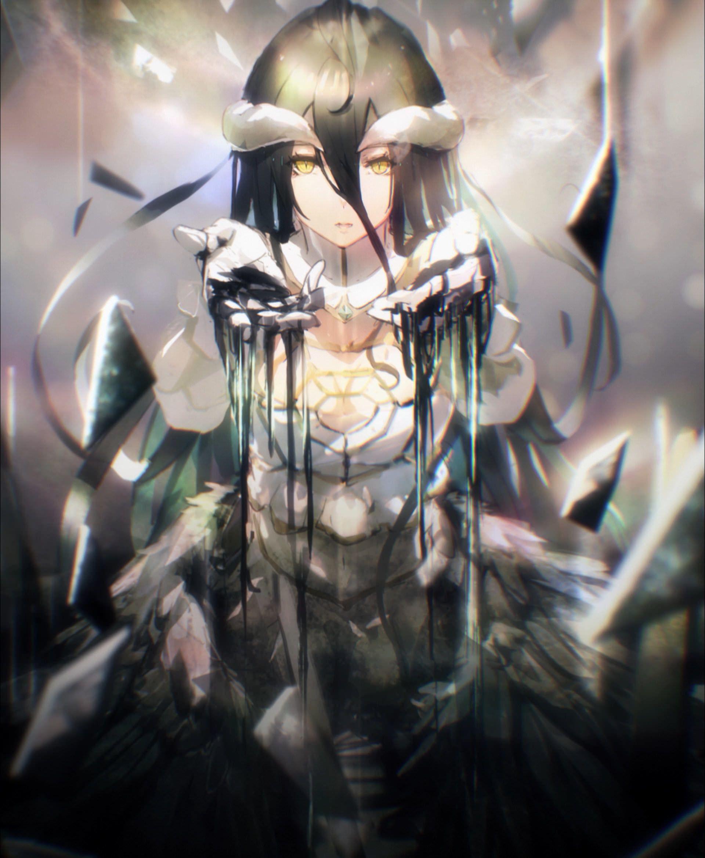 62 Albedo Overlord Wallpapers On Wallpaperplay Albedo Anime Gotico Anime