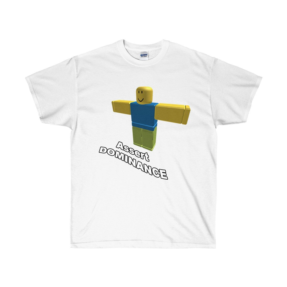 Roblox T Pose Assert Dominance Meme T Shirt Meme Tshirts