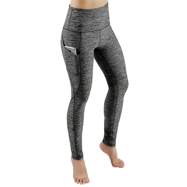 Transser Womens High Waisted Leggings Color Block Pockets Tummy Control Soft Stretch Workout Fitness Sports Yoga Pants