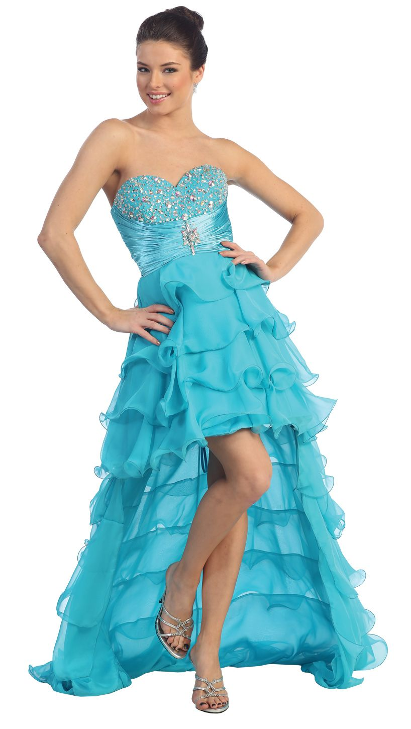Prom dressevening dress under flirty and fun girl fashion
