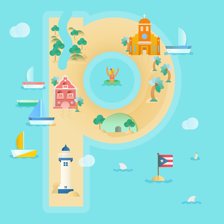 p is for puerto rico! | hiimpilar.com