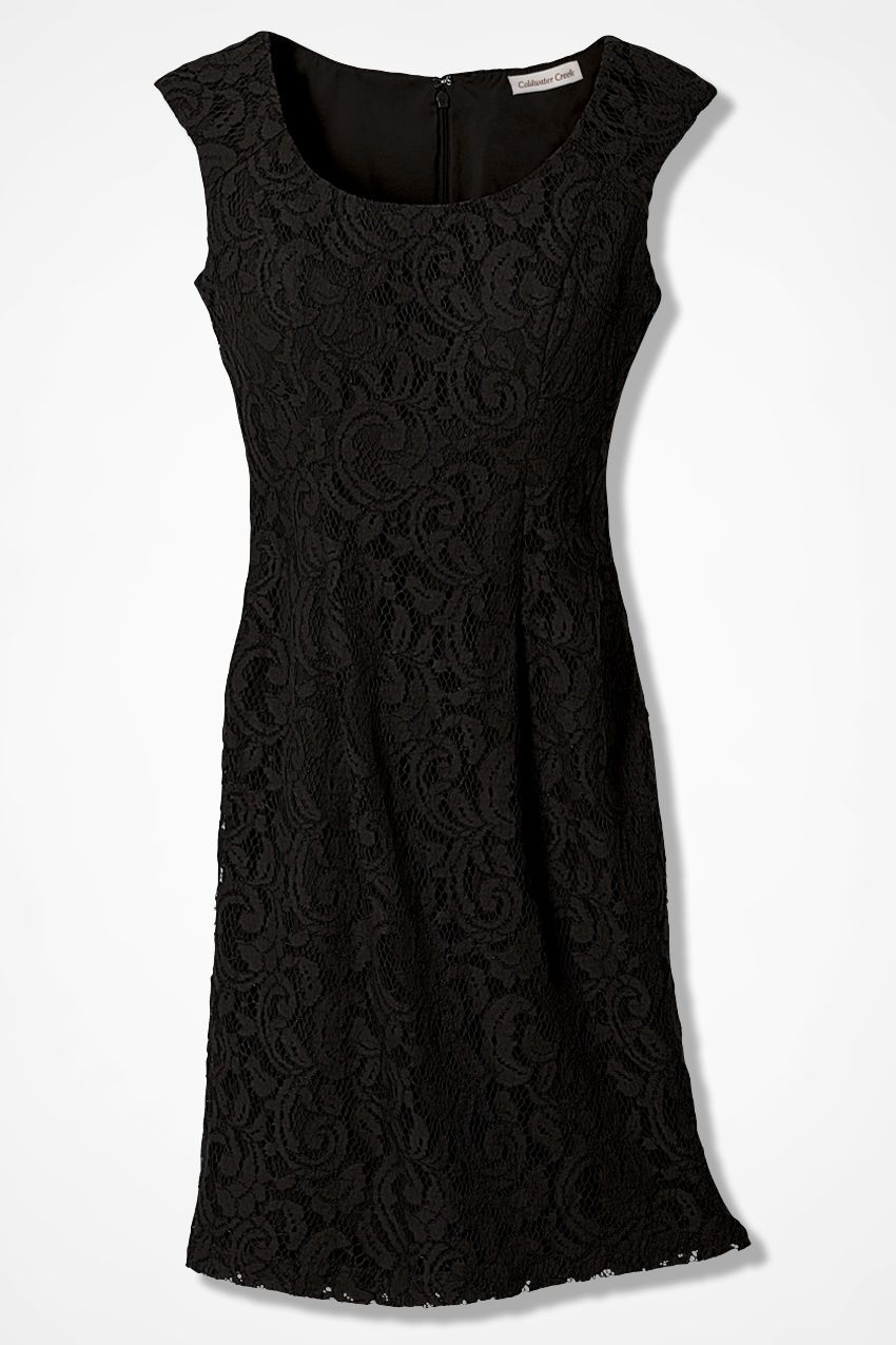 Romantic Lace Sheath - Women's Dresses | Coldwater Creek