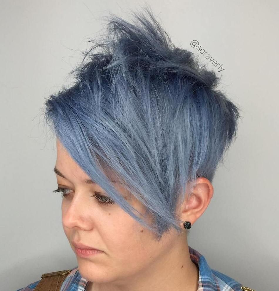 bold and beautiful short spiky haircuts for women pixie bob and