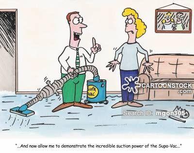 Vacuum Cleaner Cartoons Cartoon Funny Picture