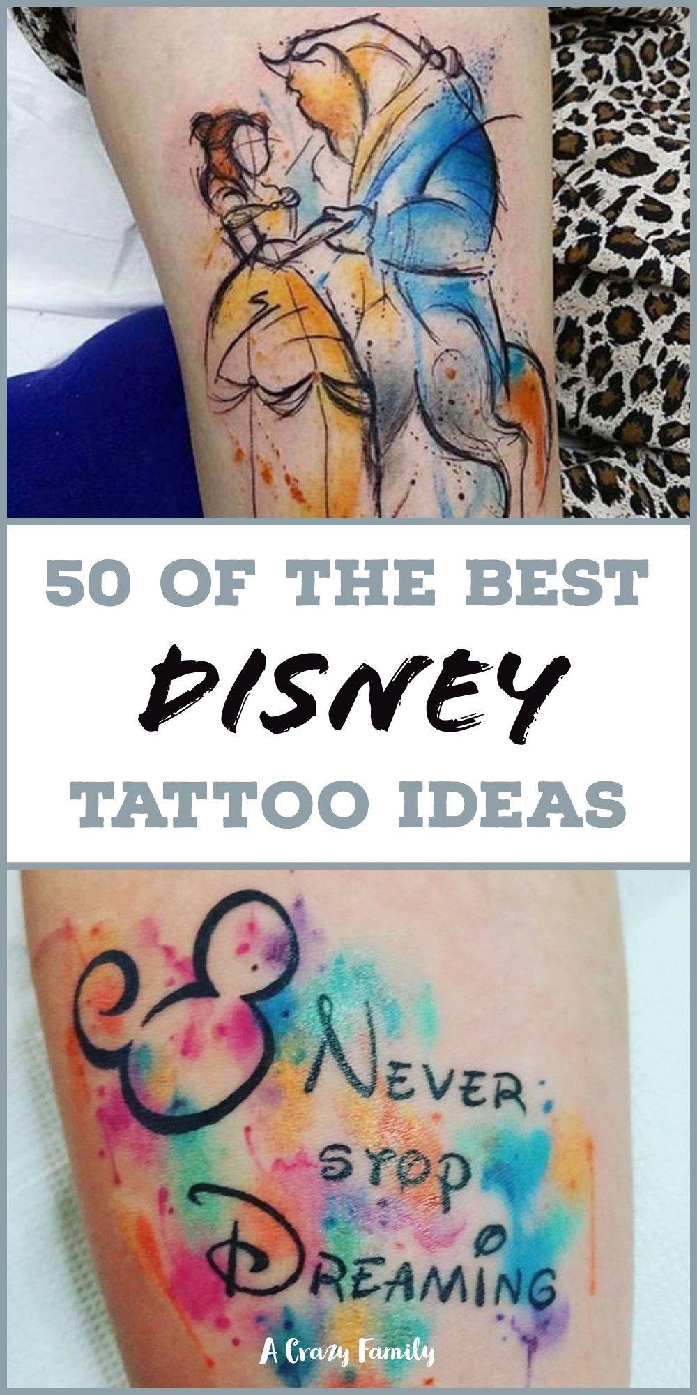 Photo of 50+ Best Walt Disney Tattoo Ideas