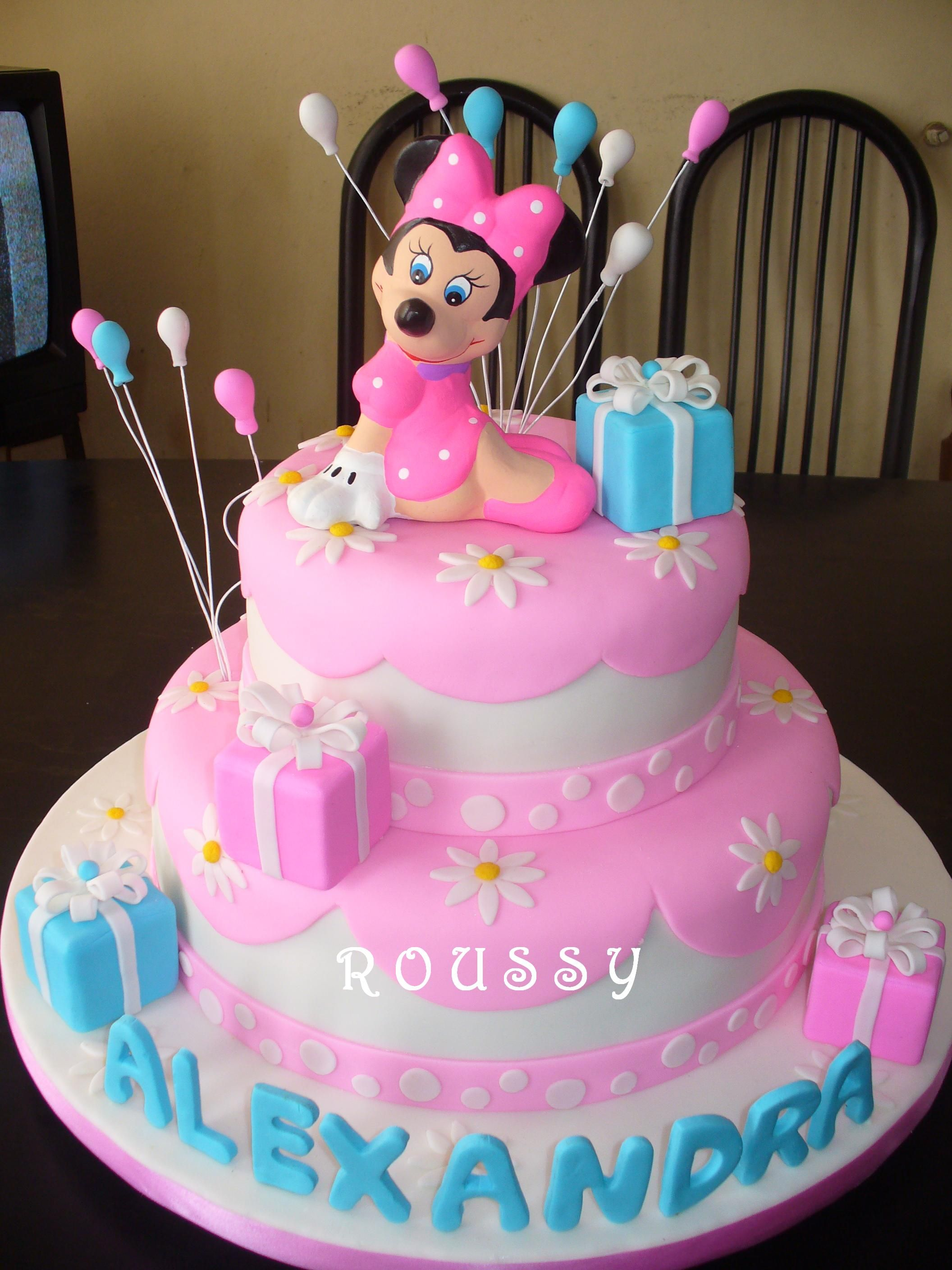 Cupcakes Minnie Mouse  Torta Minnie Mouse