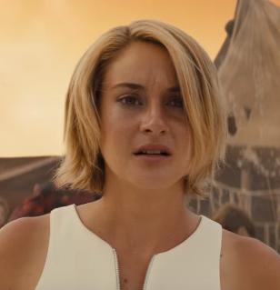 Shailene Woodley Tris Hair Allegiant Trailer Still Divergent Series Shailene Woodley Hair Divergent