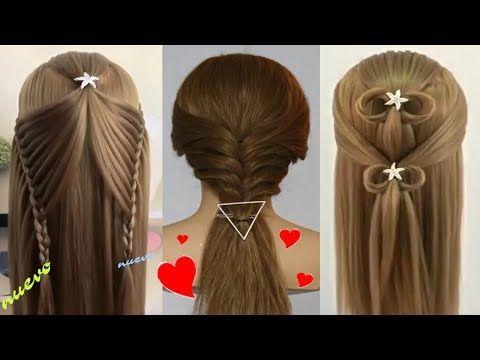 Peinados para ni as 2017 peinados cabello peinados faciles - Trenzas para nina ...