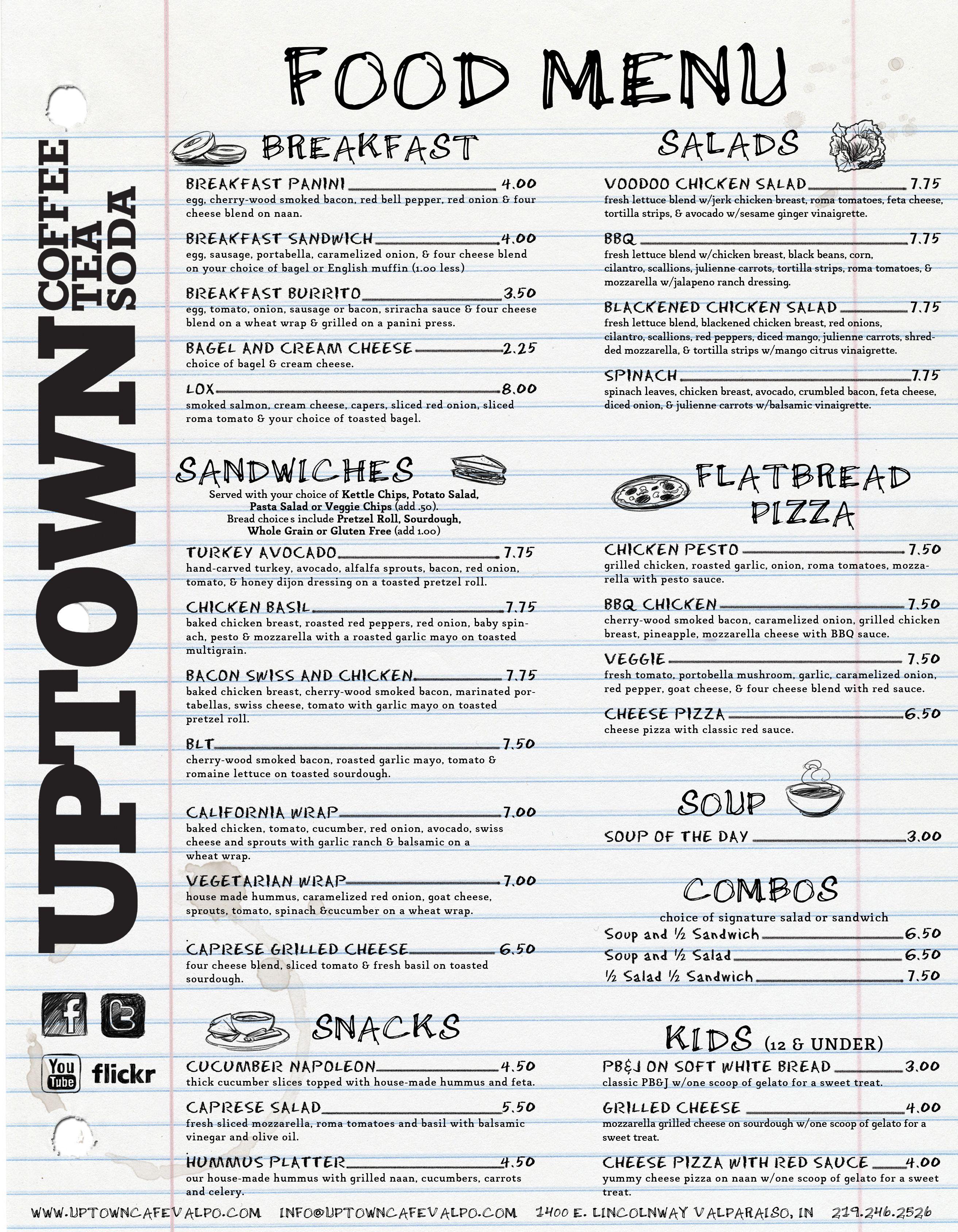 restaurant menu design style free food menu creator software