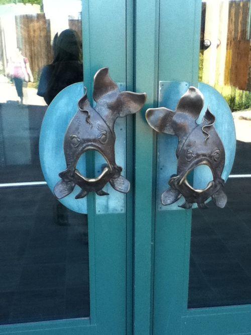 fish door handles, #doorhandles | Doorknob & Door detail | Pinterest ...