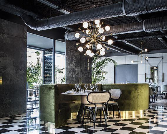 Restaurant - La Forêt noire - Lyon - Décoration Claude Cartier
