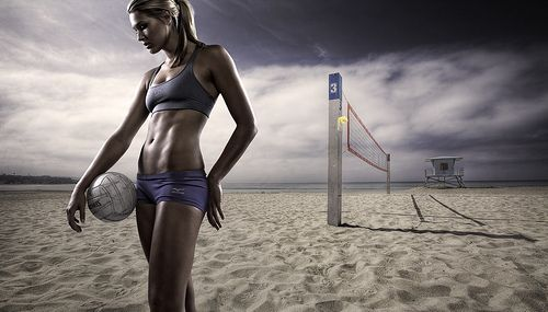 Morgan - Beach Volleyball photo by Joel Grimes Photography from Flickr at Lurvely