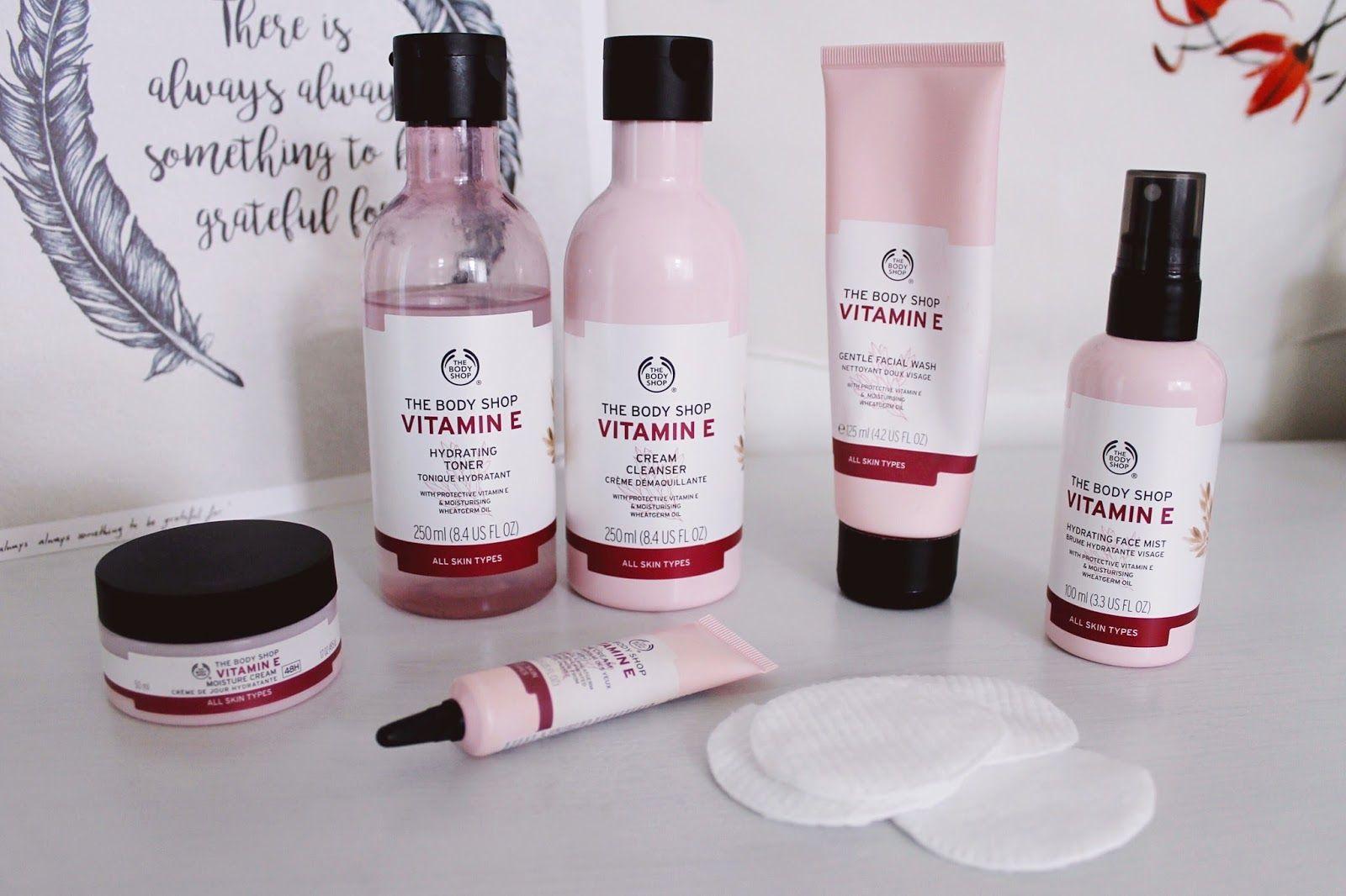 Body Shop Vitamin E Review Body Shop Skincare Body Shop Vitamin E Body Shop At Home