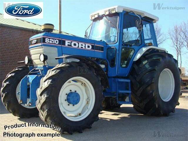 Ford 8210 Ford Tractors Tractors New Holland Ford