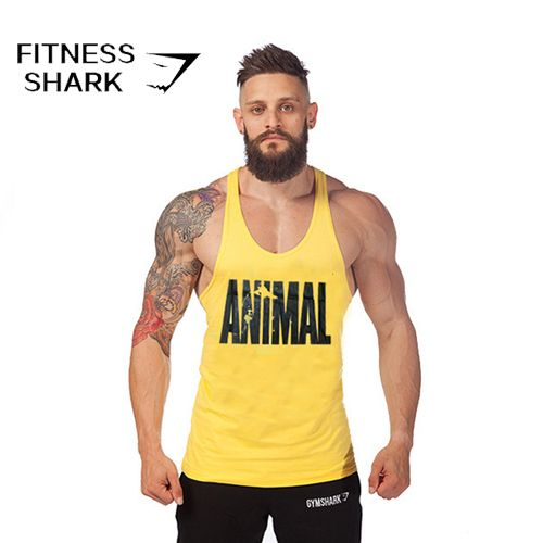 Animal Algodon Gimnasio Culturismo Y Fitness Muscle Ropa Sport Top Hombres Sin Mangas Tops Para Bodybuil Bodybuilding Shirt Bodybuilding Clothing Gym Tank Tops