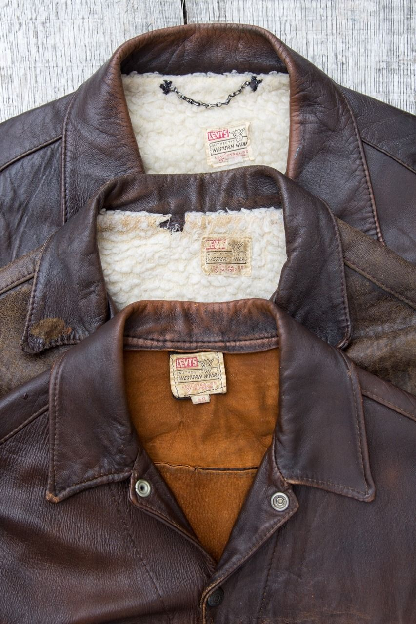 "secondsunrisesthlm ""Vintage Levi's shorthorn jackets"
