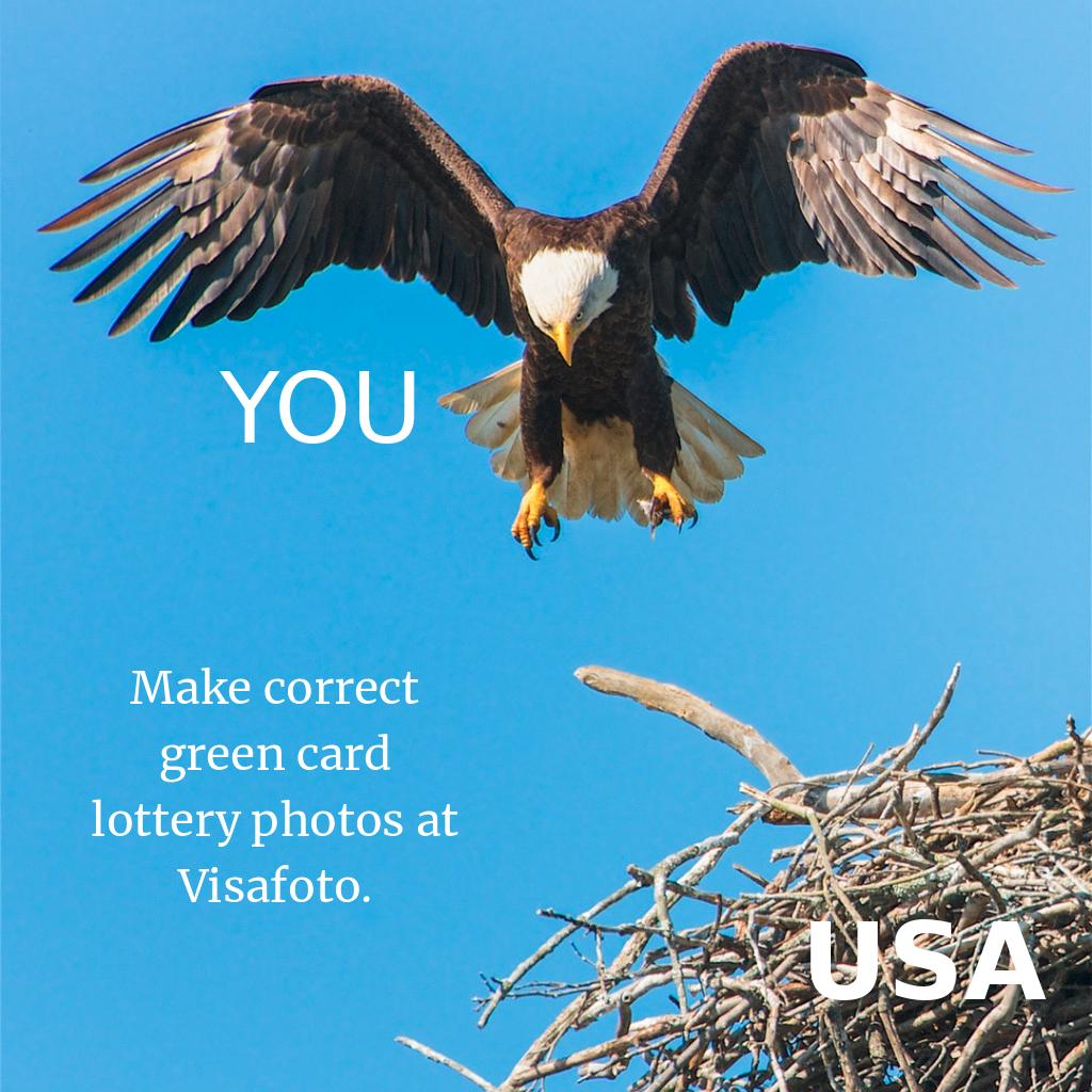 Make Correct Green Card Lottery Photos Measuring 2x2 Inch