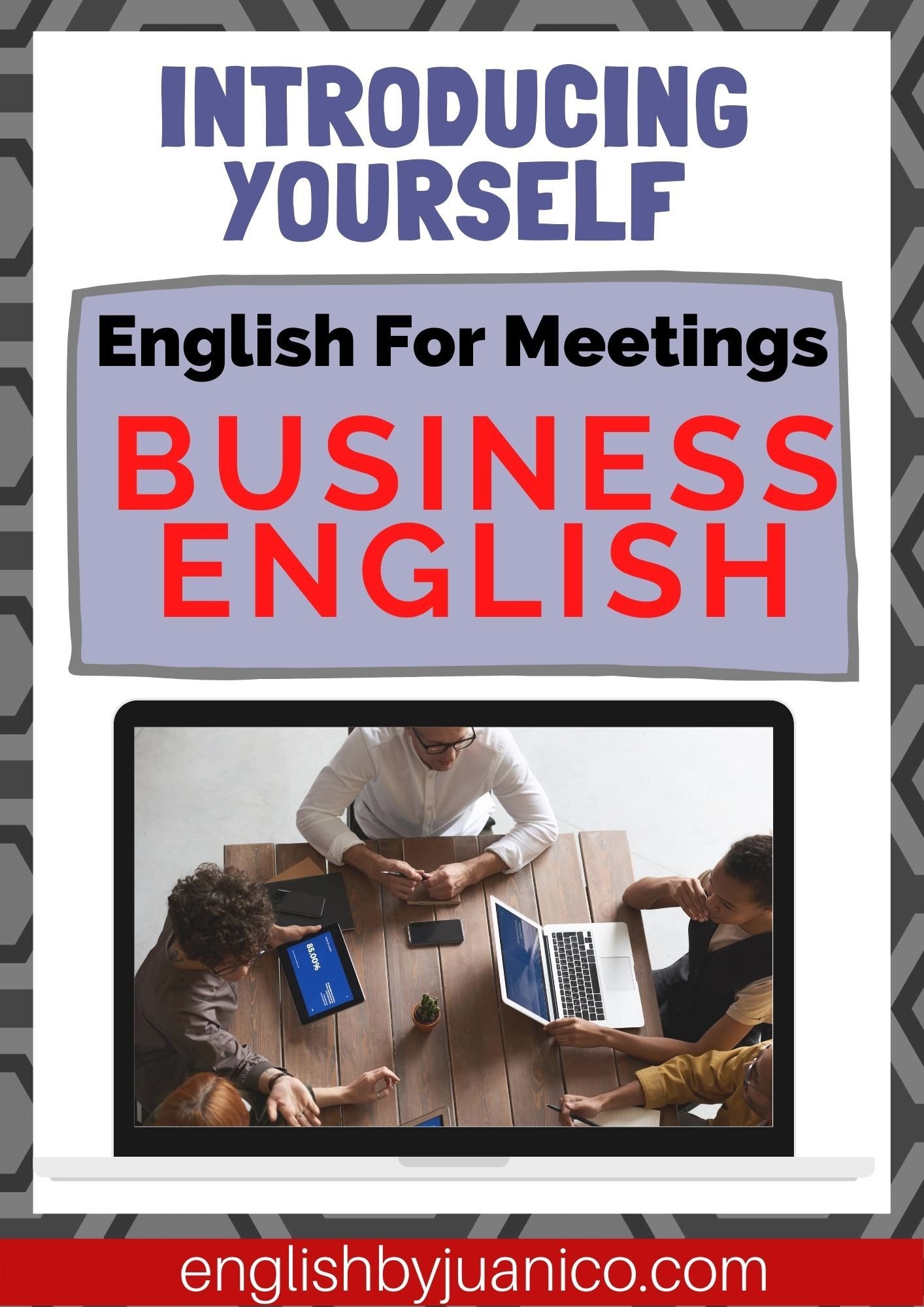Business English For Meetings