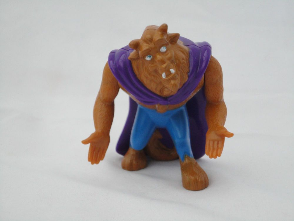Mcdonalds Happy Meal Toy Beauty And The Beast Character Beast