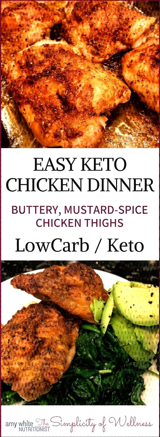 Zero Carb Chicken Thighs for a crowd. Make up to 12 thighs with this delicious, fatty, mustard-spic