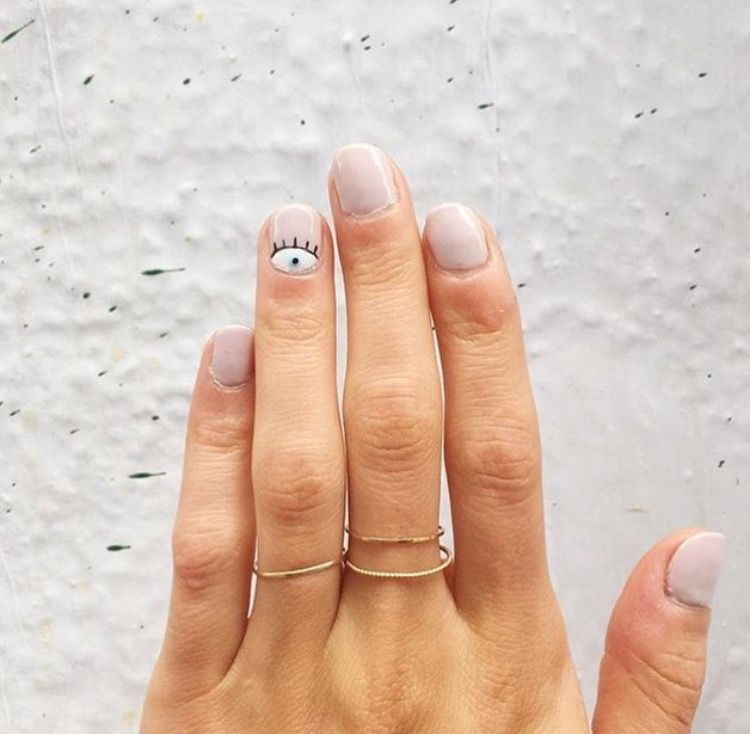 Evil Eye #nails … | Pinteres…