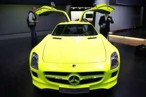 Mercedes-Benz SLS E Cell Electric Roadster | MuchoCars.com