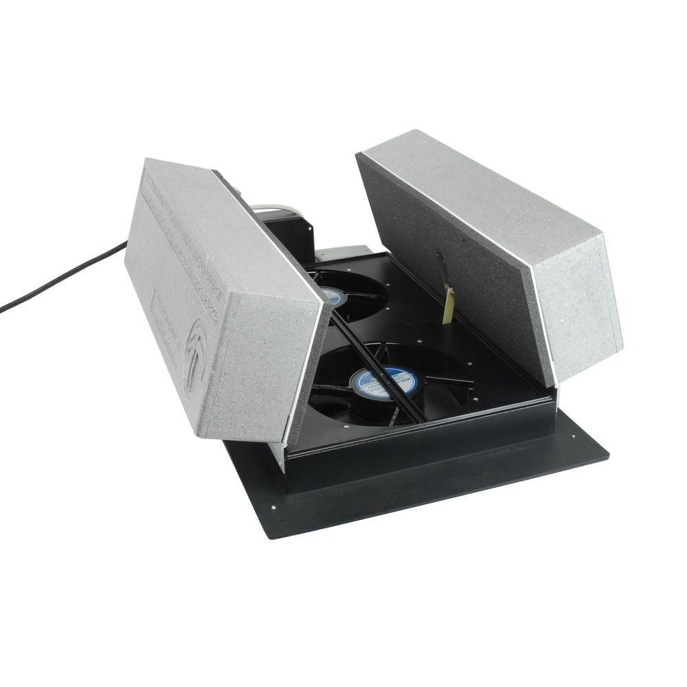 Tamarack 1600 Cfm R 38 Wi Fi Insulated Whole House Fan Hv1600wr38