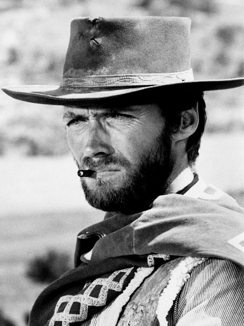 "Clint Eastwood as ""The Man with No Name"" in Sergio Leone s ""Dollars  Trilogy."" 146761bbc8d"