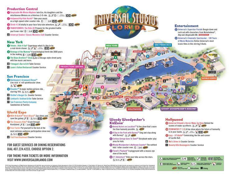 Universal Studios Orlando Florida EUA