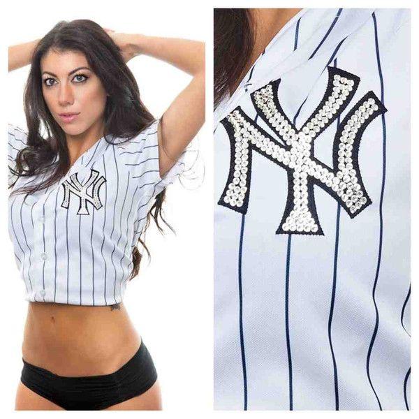 Custom Swarovski NY Yankees Women s Jersey - Derek Jeter Derek Jeter c8402b88bea