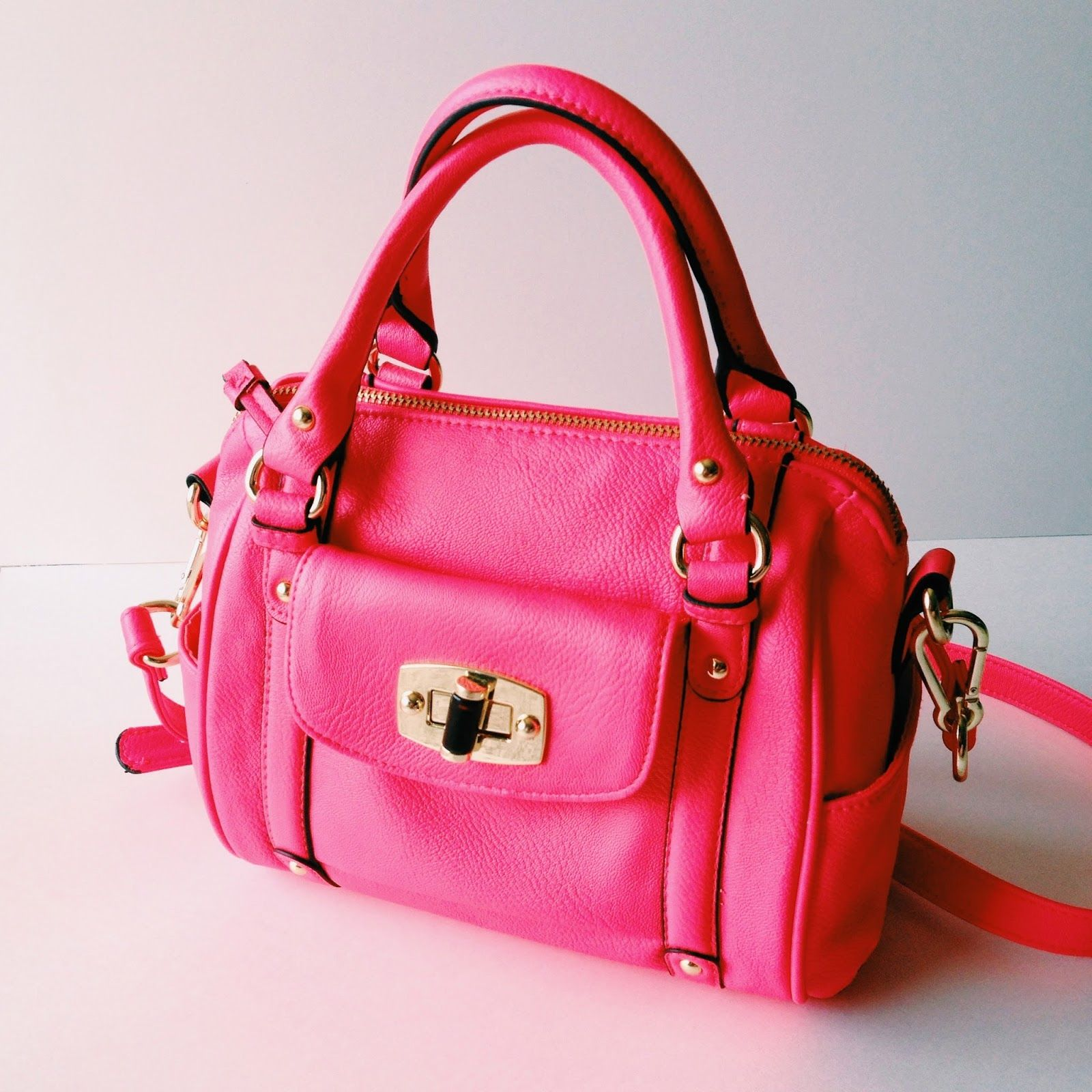 Target Merona Mini Satchel Handbag Spring Pink