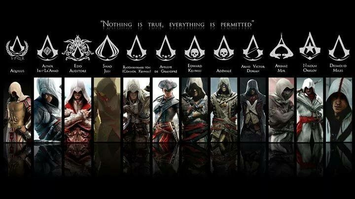 Pin by Brittney Gruver on Assassins Creed Assassins