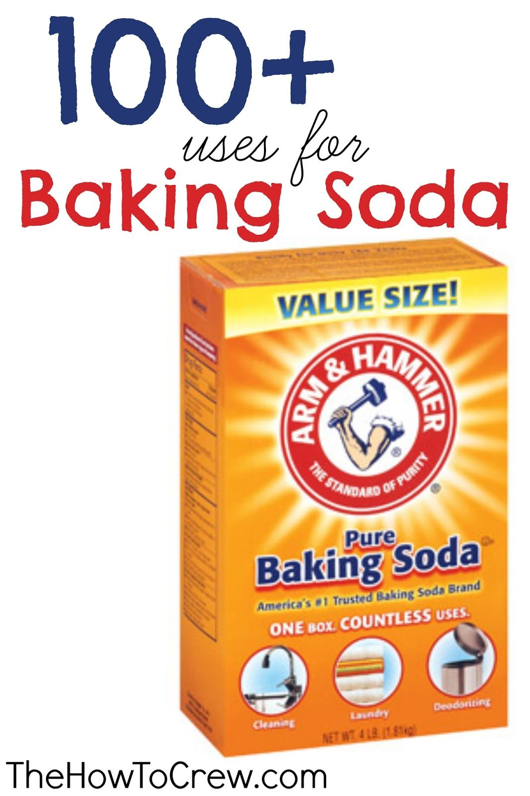 100+ Ways How To Use Baking Soda.Tips and tricks using baking soda to