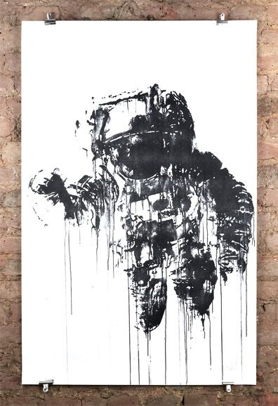 astronaut stencil template - photo #29