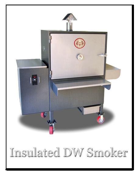 dw smoker insulated model