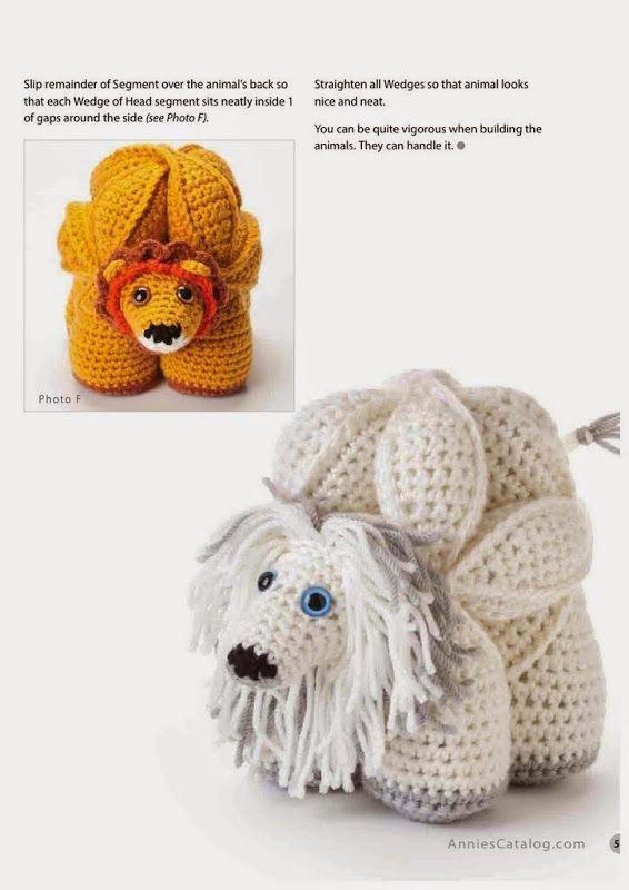 Amamani Puzzle Balls (Annie\'s Crochet) | puzzle amigorumis ...