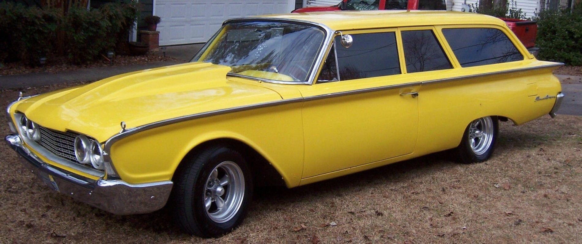 1960 FORD 2 DOOR RANCH WAGON   Ford 2door Wagon   Pinterest   Ford ...