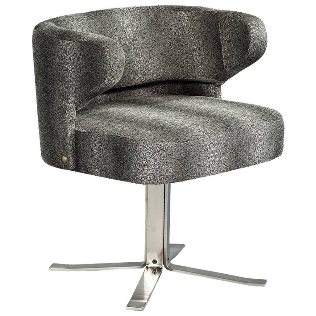 Gianni Moscatelli Office Chair Desk Chair Vintage Revolving