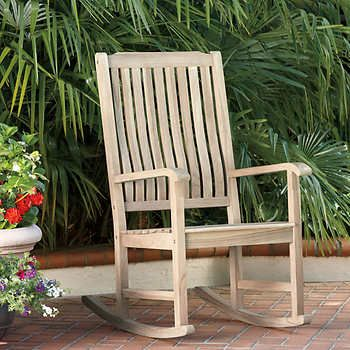 100 Fsc Certified Teak Rocking Chair