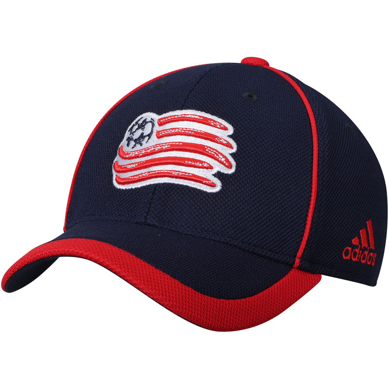 check out 2e870 e7266 New England Revolution adidas Youth Fan Piping Structured Adjustable Hat –  Navy