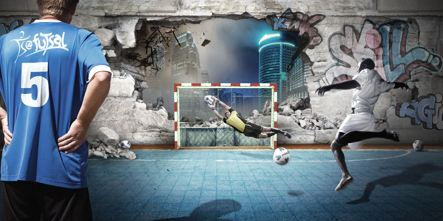 Street soccer wallpaper