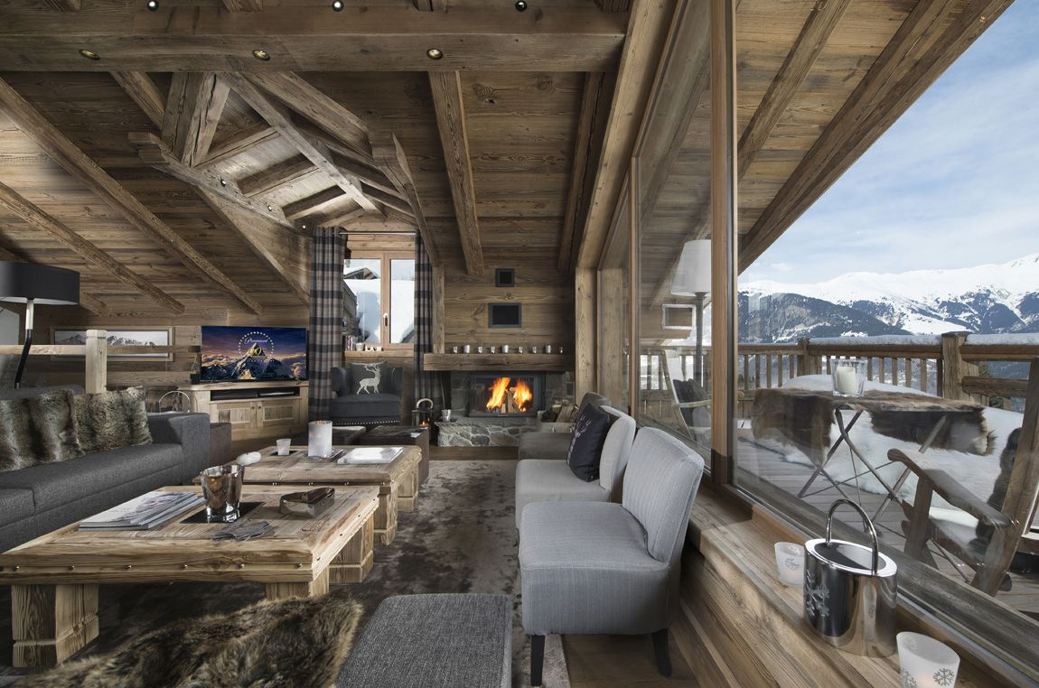 interieur chalet luxe