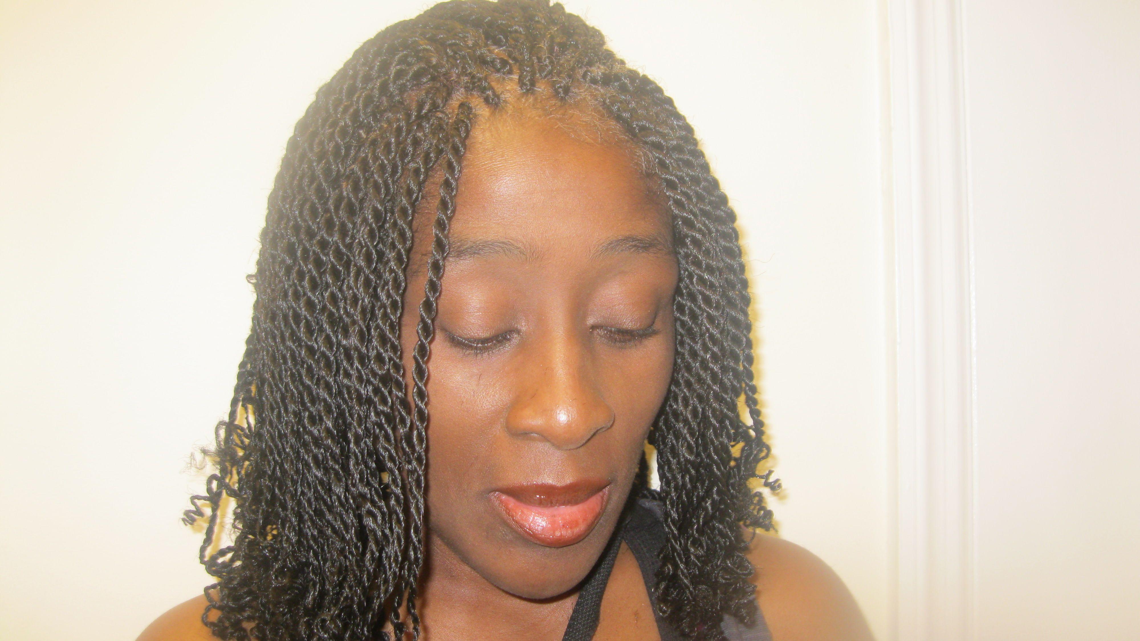 exceptional single braids hairstyles - 7 # single twist