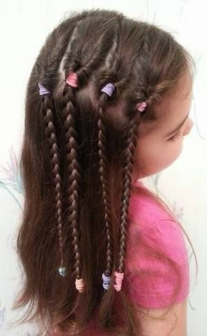 Easy Hairstyles For Kids Image Result For Easy Hairstyles For Kids  Hairs  Pinterest  Easy