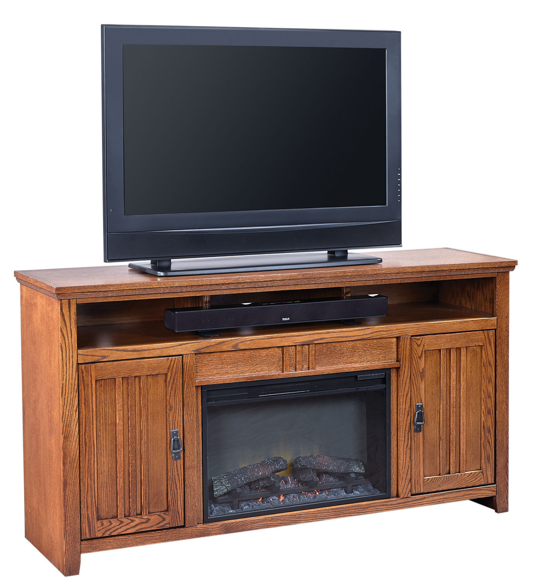 """63"""" Fireplace Console Aspen Home Home Gallery Stores"""